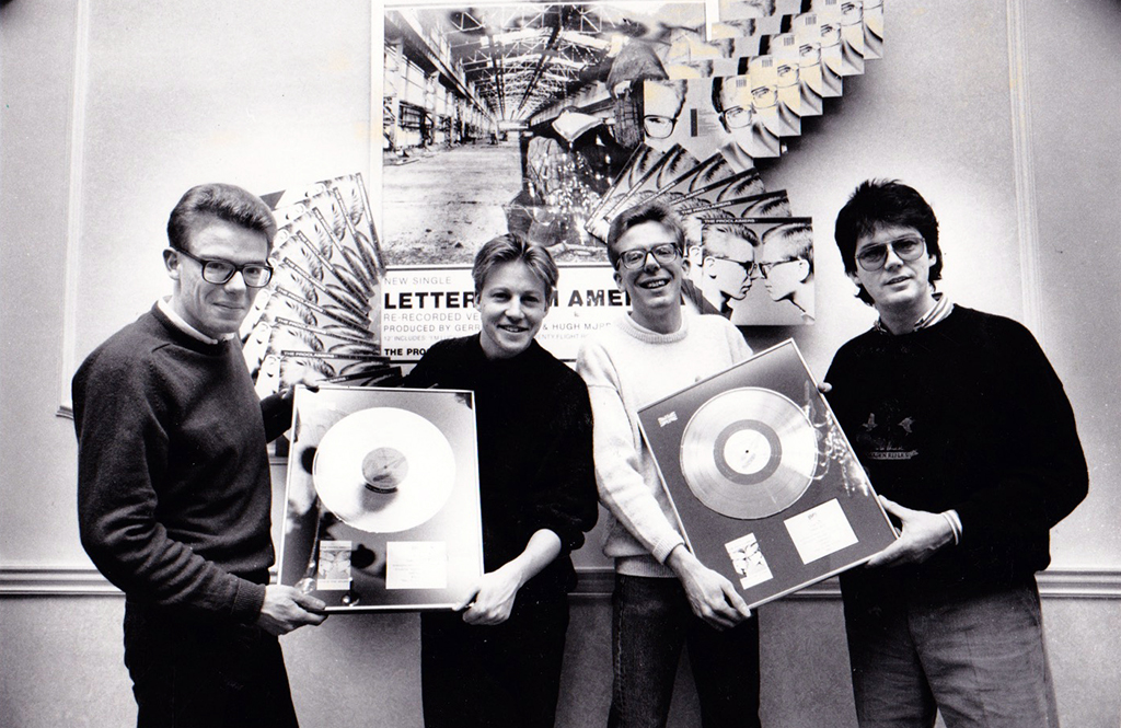 This Is The Story gold disc