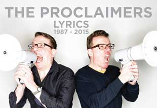 Proclaimers Lyrics Book